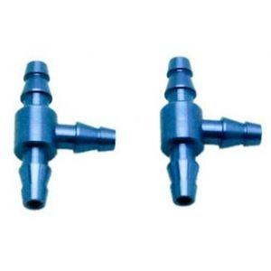 Secraft Giunto T per tubo int 4,5 mm - 2 PZ BLU