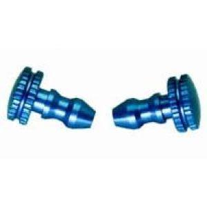 Secraft Tappi alluminio rifornimento e sfiato BLU 2 pz.
