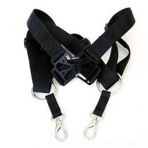Secraft Neck strap Double V2 BLACK