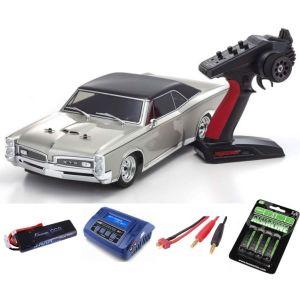 Kyosho Fazer MK2 Pontiac GTO 1967 1:10 READYSET SUPER COMBO