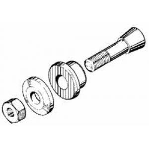 MP JET Mozzo eliche per assi 6 mm, M8