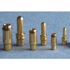 MP JET 2 coppie spinotti dorati 2,5 mm (<50A)