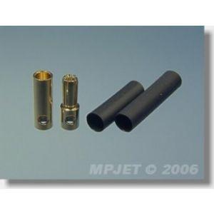 MP JET 2 coppie spinotti dorati 5,5 mm (<200A)