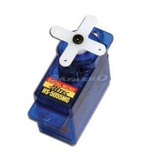 Hitec HS-5055MG digitale - 1,6 (6,0V)-0,17 (6,0V) Servocomando micro