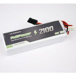 FullPower Batteria RX LiFe 2S 2100 mAh 35C V2 - JR