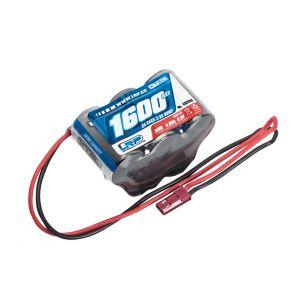 LRP XTEC Batteria RX 1600 mA NiMh 6V a PIRAMIDE spina BEC