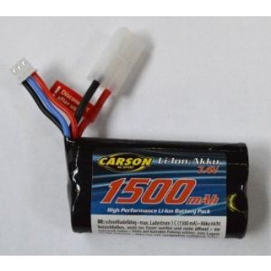 Carson Batteria LiIon 2S 1500mAh - JST