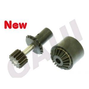 Gaui 204627 - Gaui 425 Plastic - Torque Tube Front Drive Gear Set