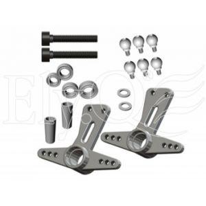 ElyQ EQ30057 Vision 50 Competition - Leve metallo alettoni passo per Bell Crank
