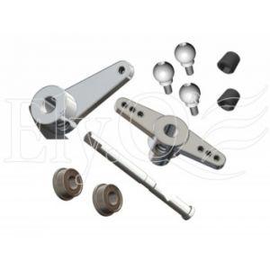ElyQ EQ30058 Vision 50 Competition - Leve metallo elevatore per Bell Crank