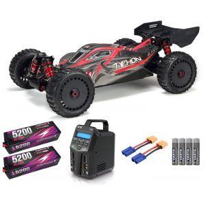Arrma TYPHON™ 6S V5 BLX 1/8 Speed Buggy 4WD RTR SUPER COMBO 6S FP HC
