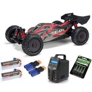 Arrma TYPHON™ 6S BLX 1/8 Speed Buggy 4WD RTR V5 SUPER COMBO 6S FP