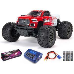 Arrma Granite V3 4X4 3S BLX Monster Truck RTR - Rossa SUPER COMBO FP HC