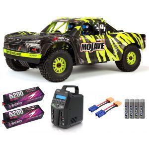 Arrma MOJAVE™ 6S V2 BLX 1/7 Brushless 4WD Desert Truck RTR Green/Black SUPER COMBO 6S FP HC