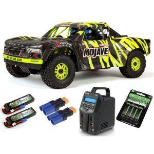Arrma MOJAVE™ 6S V2 BLX 1/7 Brushless 4WD Desert Truck RTR Green/Black SUPER COMBO 6S