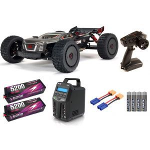 Arrma TALION 1/8 4WD EXB EXtreme Bash Roller Speed Truggy RTR SUPER COMBO FP HC