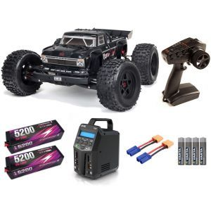 Arrma OUTCAST 1/8 4WD EXB EXtreme Bash Roller Stunt Truck RTR SUPER COMBO FP HC