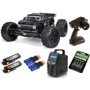Arrma OUTCAST 1/8 4WD EXB EXtreme Bash Roller Stunt Truck RTR SUPER COMBO