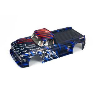 Arrma INFRACTION 6S BLX Painted Body Blue/Red - ARA410005
