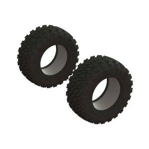 Arrma dBoots 'Ragnarok Mt' Tire & Inserts (2) - ARA520051
