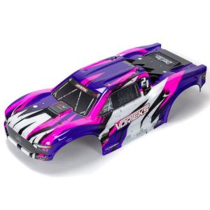 ARRMA VORTEKS 4X4 BLX Painted Decal Trimmed Body(Purple) - ARA402327
