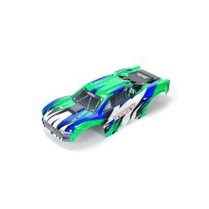 ARRMA VORTEKS 4X4 BLX Painted Decal Trimmed Body (Green) - ARA402328