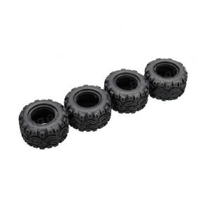 WL toys Savage 2WD 2.4Ghz 1/24-gomme