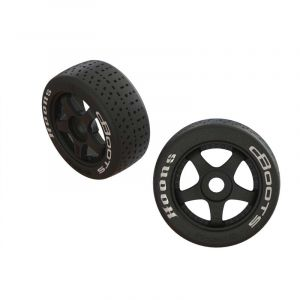 Arrma 1/7 dBoots Hoons Front 100 Pre-Mounted Belted Tires, 17mm Hex (2) - ARA550062