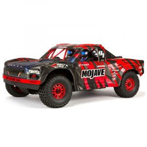 Arrma MOJAVE™ 6S V2 BLX 1/7 Brushless 4WD Desert Truck RTR Red/Black
