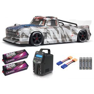 Arrma INFRACTION 1/7 6S BLX All-Road Truck RTR, Silver SUPER COMBO 6S FP HC