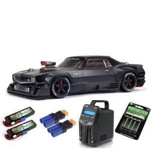 Arrma FELONY 1/7 6S BLX Street Bash All-Road Muscle Car RTR, Black SUPER COMBO 6S