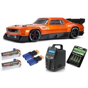 Arrma FELONY 1/7 6S BLX Street Bash All-Road Muscle Car RTR, Orange SUPER COMBO 6S FP