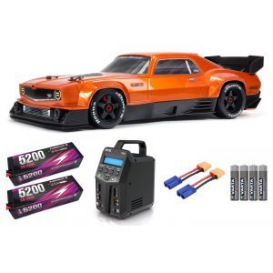 Arrma FELONY 1/7 6S BLX Street Bash All-Road Muscle Car RTR, Orange SUPER COMBO 6S FP HC