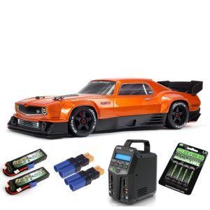Arrma FELONY 1/7 6S BLX Street Bash All-Road Muscle Car RTR, Orange SUPER COMBO 6S