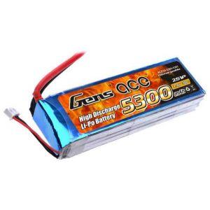 Gens ACE Batteria Lipo 2S 5300 mAh 30C - XT90