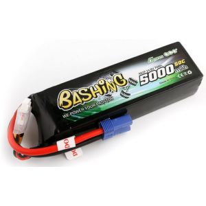 Gens ACE Batteria Lipo 4S 5000mAh 50C Bashing Series - EC5
