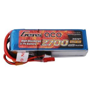 Gens ACE Batteria TX Lipo 3S 2700 mAh - Futaba