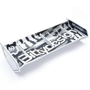 Bittydesign Kit alettone Stealth 1/8 Buggy & Truggy (Bianco)