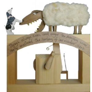 Jonathan Automata Carivorus Sheep legno assemblato