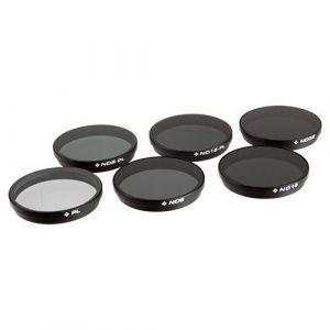 PolarPro Filtri Osmo/Inspire1 (X3) DJI - CP, ND8, ND16, ND32, ND8/PL, ND16/PL