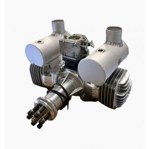 DLE DLE-170 cc V3 bicilindrico Motore a scoppio 2T BENZINA