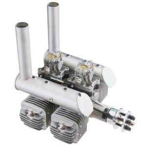 DLE DLE-222 cc quadricilindrico Motore a scoppio 2T BENZINA