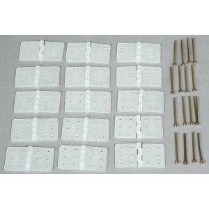 Dubro Cerniere nylon SMONTABILE 35x19mm (15 pz)