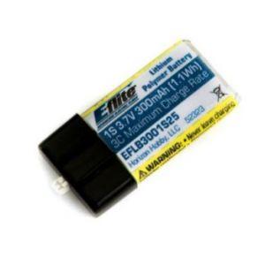 E-flite Batteria Li-Po 1 cella 300mAh UMX 25C
