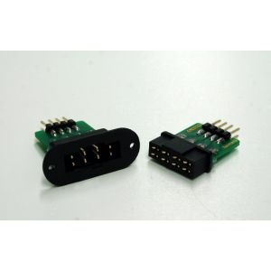 Emcotec Connettore ala/fusoliera 8 PIN (maschio + femmina)