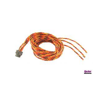 Emcotec Connettore ala/fusoliera EWC9 maschio senza connettore (3 servi)