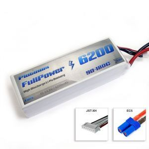 FullPower Batteria Lipo 4S 6200 mAh 90C PLATINUM - EC5