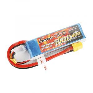 Gens ACE Batteria Lipo 2S 1800 mAh 45C - XT60