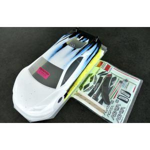 Bittydesign Carrozzeria 1/10 GT AGATA 190mm Colorazione SPEED GIALLA