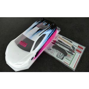 Bittydesign Carrozzeria 1/10 GT AGATA 190mm Colorazione SPEED ROSA